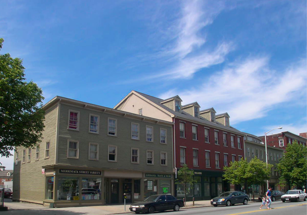 Winslow Architects Multi Family Merrimack St